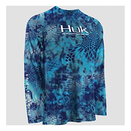 c440c3a73c2 Marolina Outdoor H1200022PONXXXL Huk Kryptek Performance Raglan Long Sleeve  Shirt