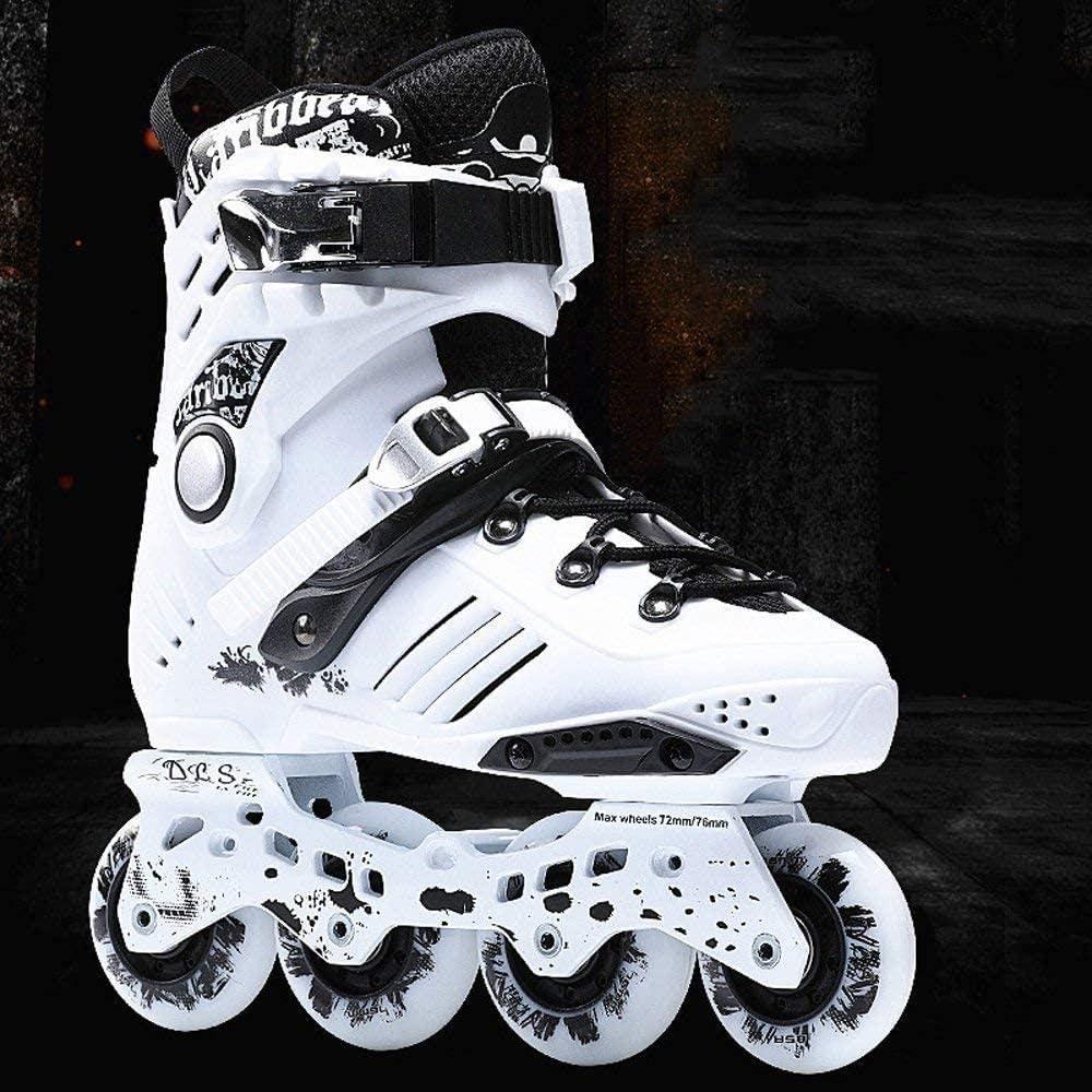 QIUhoodies Mens Roller Skates Adult Inline Skates 4 Wheel Blades Roller Blades Young Adults Outdoor Rollerskates