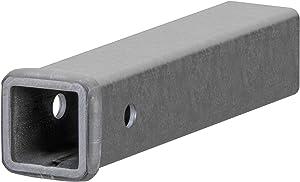 CURT 49120 2-Inch x 12-Inch Weld-On Raw Steel Trailer Hitch Receiver Tube