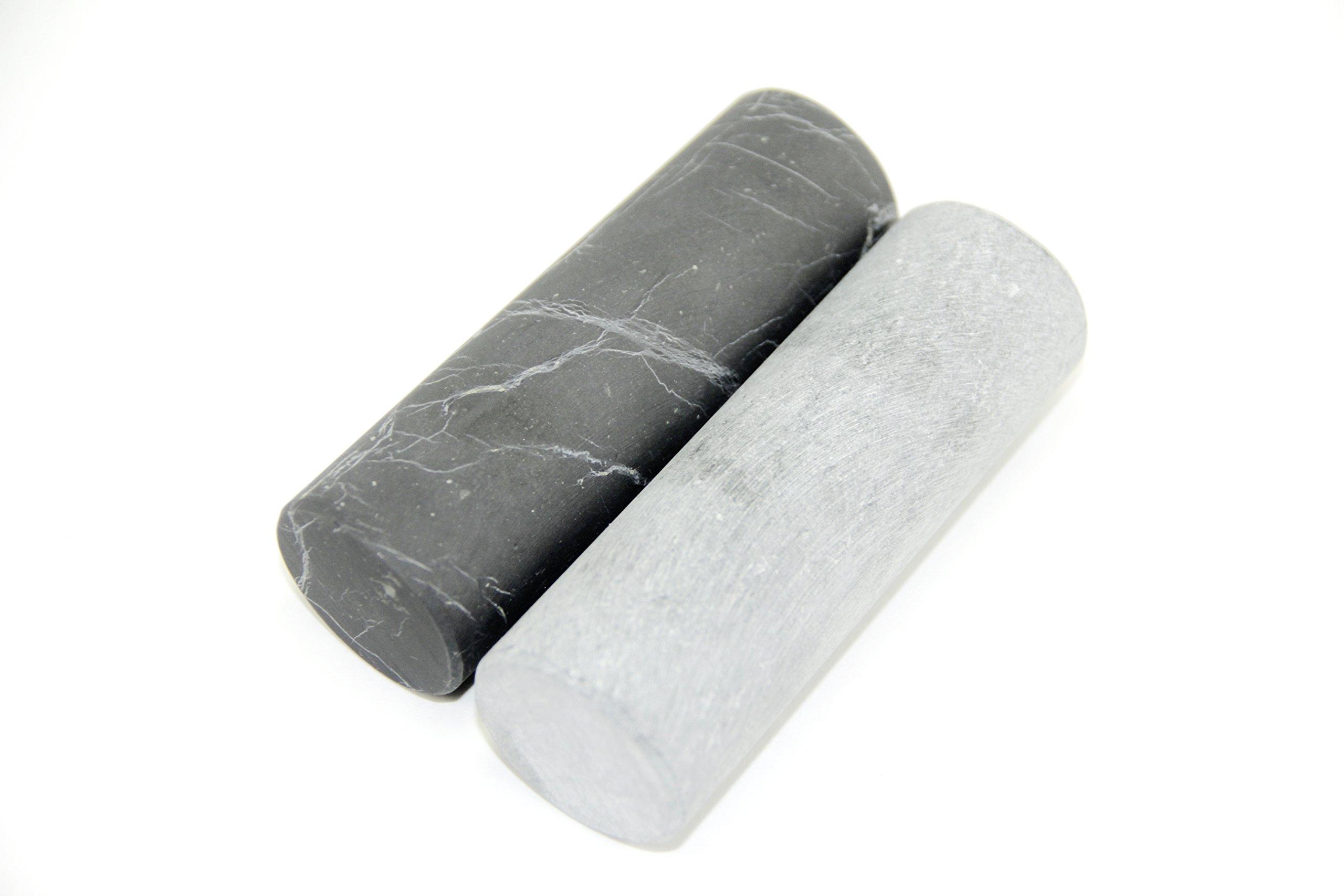 Unpolished Shungite Crystal Pharaoh Cylinders - 100% natural unpolished gemstone - Russia Stone - Gem - Semi precious Mineral - Reiki, Meditation, Crystal Healing - Alien Stone