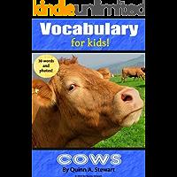 Kids Vocabulary: Cows