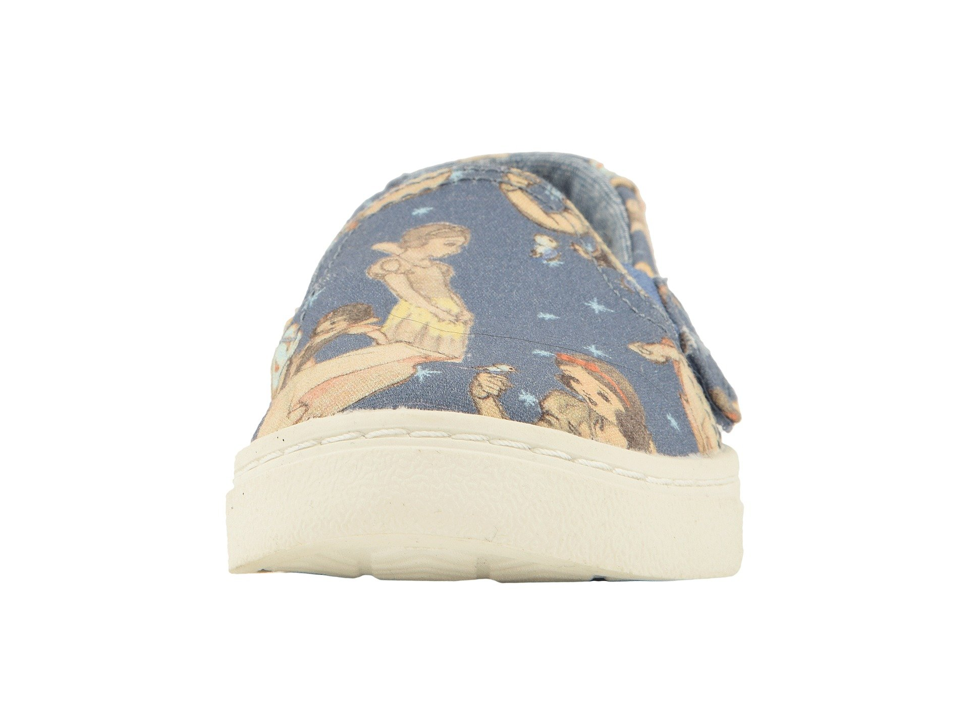 TOMS Girl's, Luca Slip on Shoes Blue 4 M by TOMS Kids (Image #5)