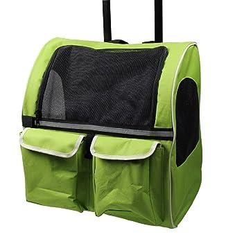 Meiying Roll Around 4 en 1 Mochila de Viaje para Perros y Gatos Bolsa de Viaje Airline Aprobado: Amazon.es: Productos para mascotas