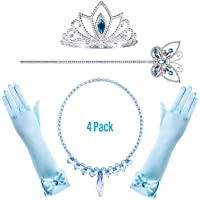 FancyDressWale Princess Elsa Cinderella Rapunzel Dress up Accessories Set for Girls