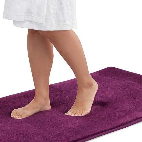 BOEISEN Cork Mat Bath Mat Non-slip Absorbent Bathmats Natural Doormats Kitchen Mat-23.6x17.7x0.4-1PC