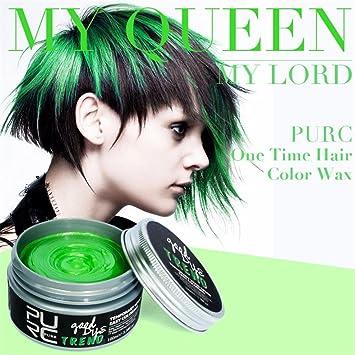sinwo nuevo Diy pelo color tinte pelo de arcilla cera barro ...