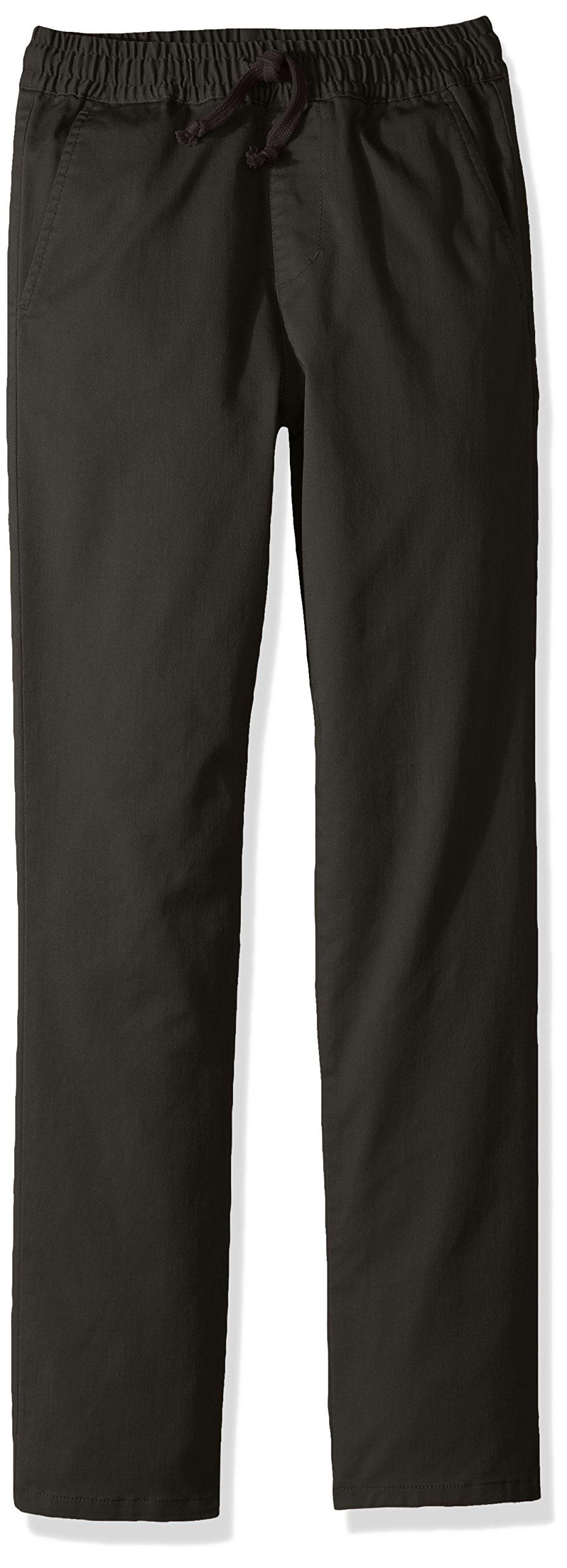 RVCA Boys' Big' A.T. DAYSHIFT Elastic Pant, Pirate Black, XL