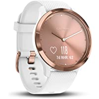 Garmin Vivomove HR Smart Watch (White/Rose Gold)