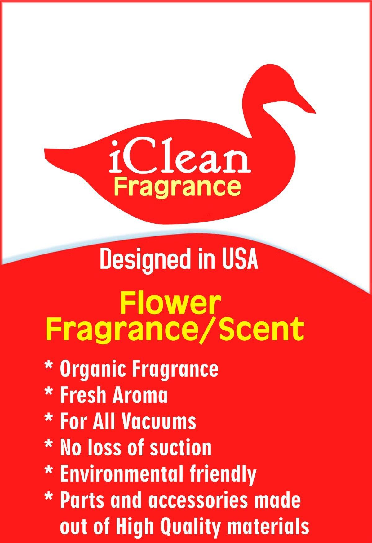 Vacuum Air Freshener Sticks Flower Fragrance/Scent 6Pk By iClean Fragrance