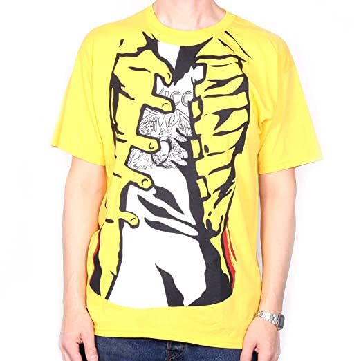 600abf321 Image Unavailable. Image not available for. Color: Queen T Shirt - Freddie  Mercury Yellow Jacket ...