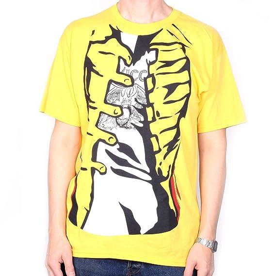 Queen Camiseta - Freddie Mercury Yellow Jacket Costume 100% Official amarillo medium: Amazon.es: Ropa y accesorios