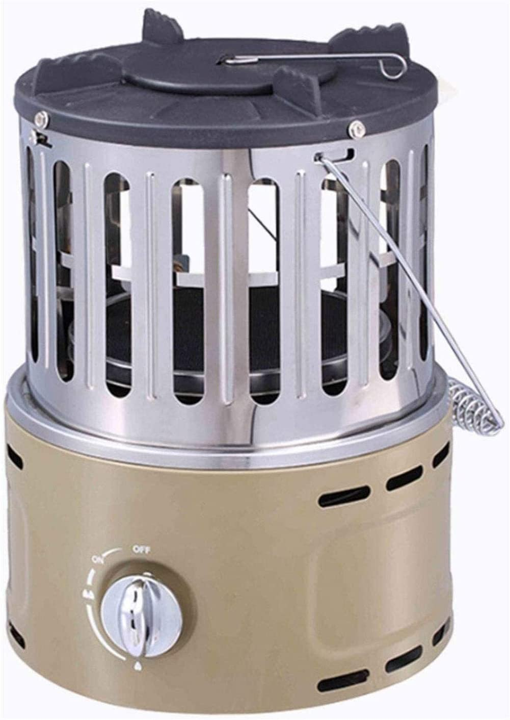 ?????? Outdoor Heating Outdoor Mini Space Patio Heater Stainless Steel Portable Outdoor Heat Lamp, Adjustable Outdoor Heaters for Party Festivals heaters for Patio
