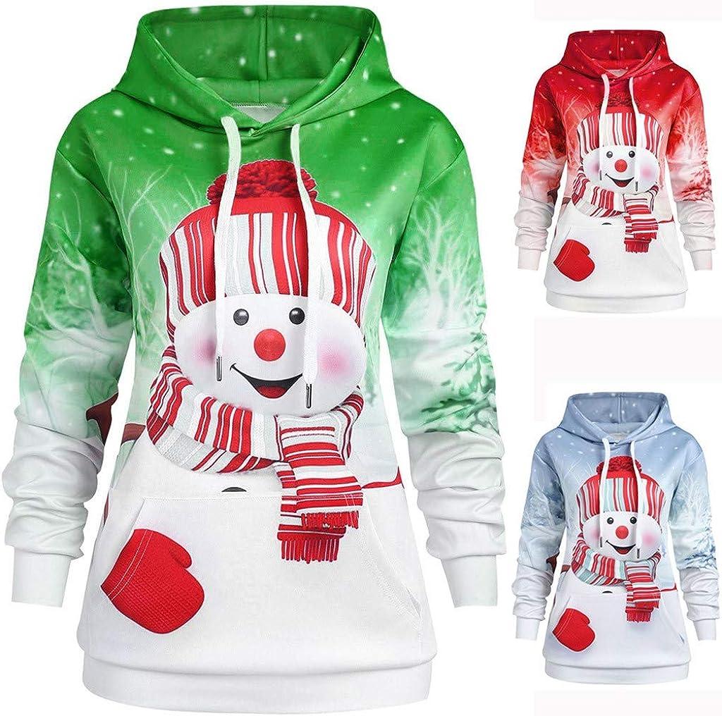 KEERADS Unisexe Sweat-Shirts /à Capuche Trendy Faces Nouvelle Saison Stranger Things Hooded Hommes Femmes Sweatshirts /à Manches Bonhomme de Neige de No/ël
