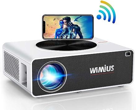 Proyector WiFi 7200 Lúmenes WiMiUS