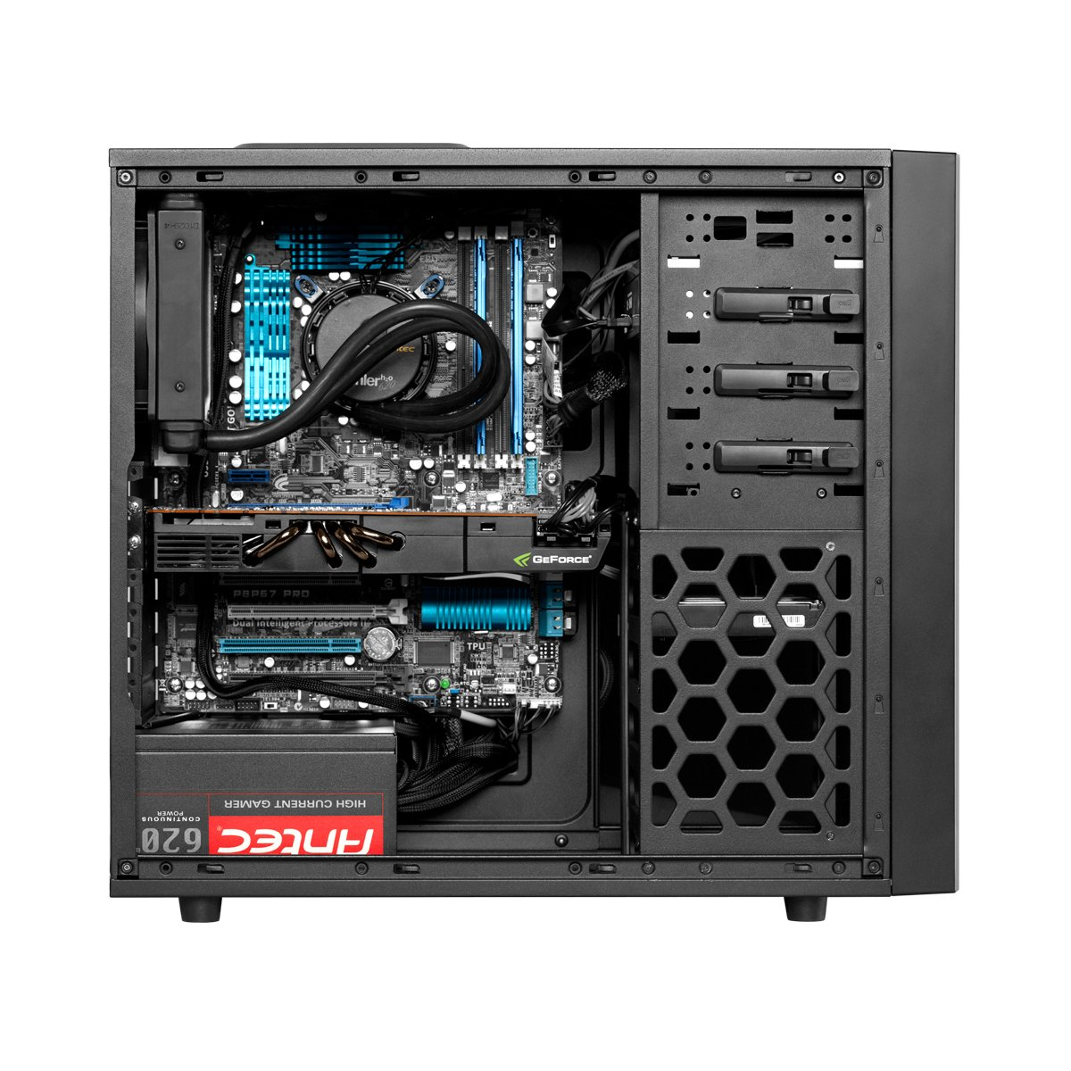 Amazon Com Antec Gaming Series One Mid Tower Pc Gaming Computer