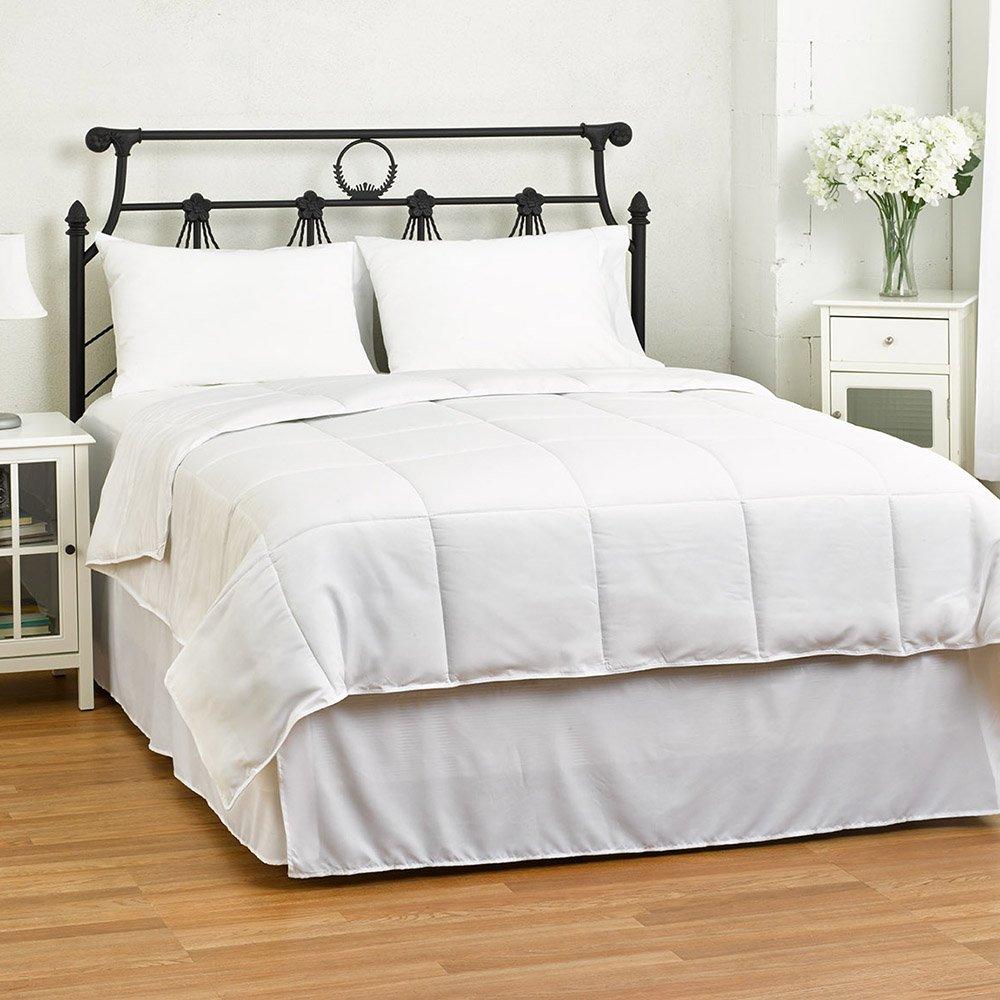 Amazon.com: Cozy Beddings, White Down Alternative Comforter/Duvet Cover Insert, Twin/Twin XL: Home & Kitchen