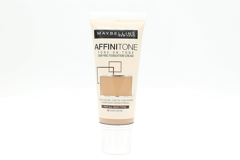 maybelline affinitone color chart cold tones: Amazon com maybelline affinitone foundation 30 sand beige 30ml