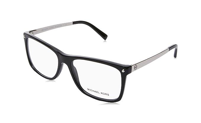MICHAEL KORS Michael Kors Damen Brille »IZA MK4040«, schwarz, 3163 - schwarz