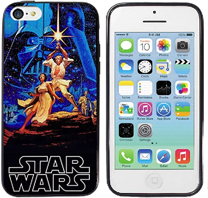 Star Wars A New Hope iPhone 5 5s Case: Amazon.ca: Cell Phones ...