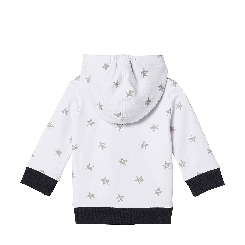 Sweatjacke mit Sternen und Taschen