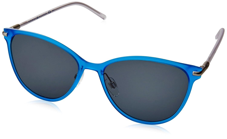 Amazon.com: Tommy Hilfiger TH 1397/S r30nl (Azul – Cristal ...