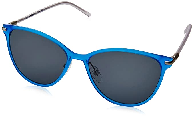 Tommy Hilfiger TH 1397/S NL Gafas de Sol, Blue Crystal, 56 ...