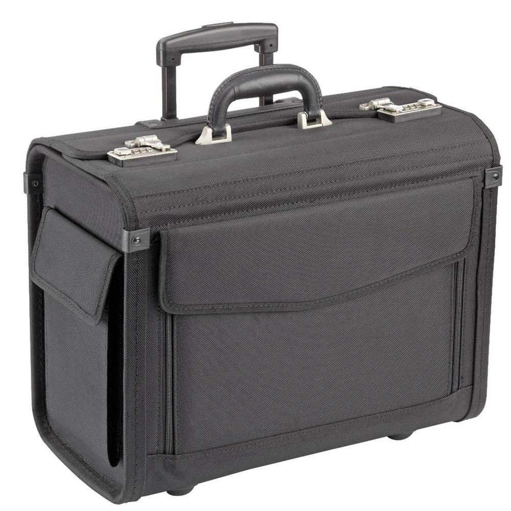 Dermata Pilotenkoffer Trolley 45,5 cm Laptopfach