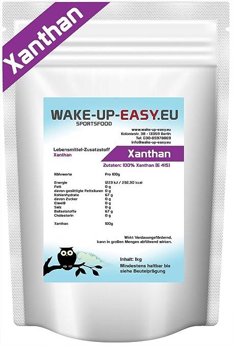 4 opinioni per 1 Kg- Xanthan Gum cibo additivo E415 stabilizzatore emulsionante 1000g