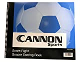 Cannon Sports Soccer Scorebook