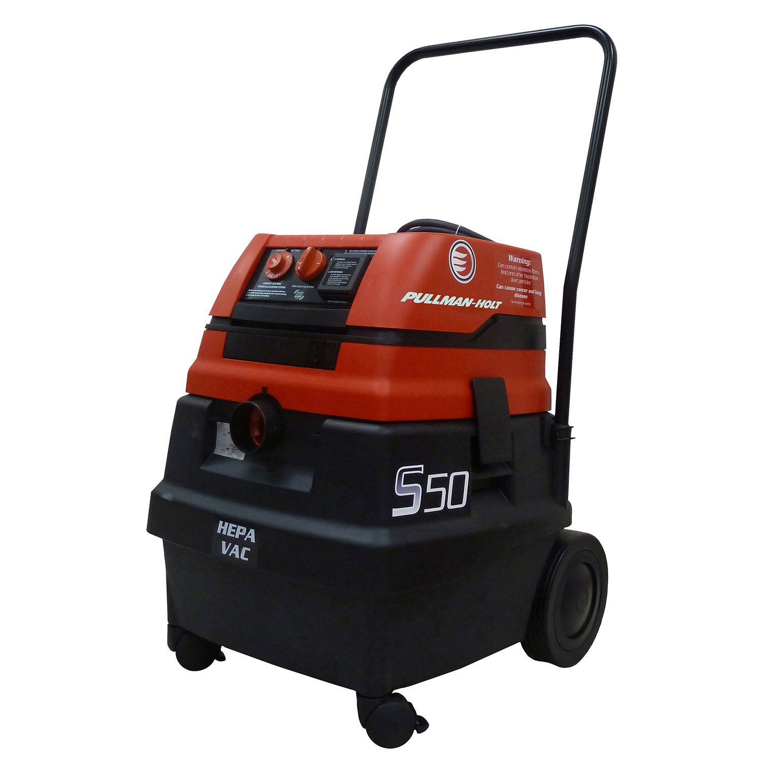 Pullman Holt HEPA Wet/Dry Vacuum, 120V w/Tools by Pullman-Holt
