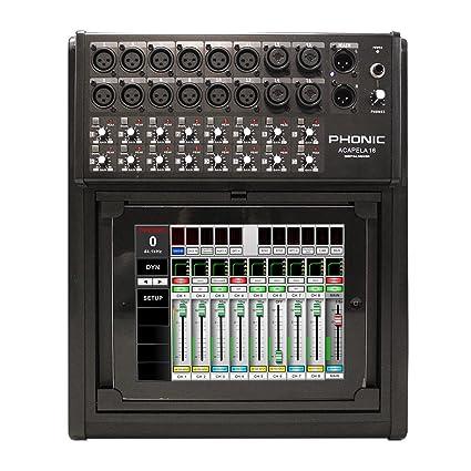 Amazon com: Phonic Acapela16 Digital Mixer: Musical Instruments