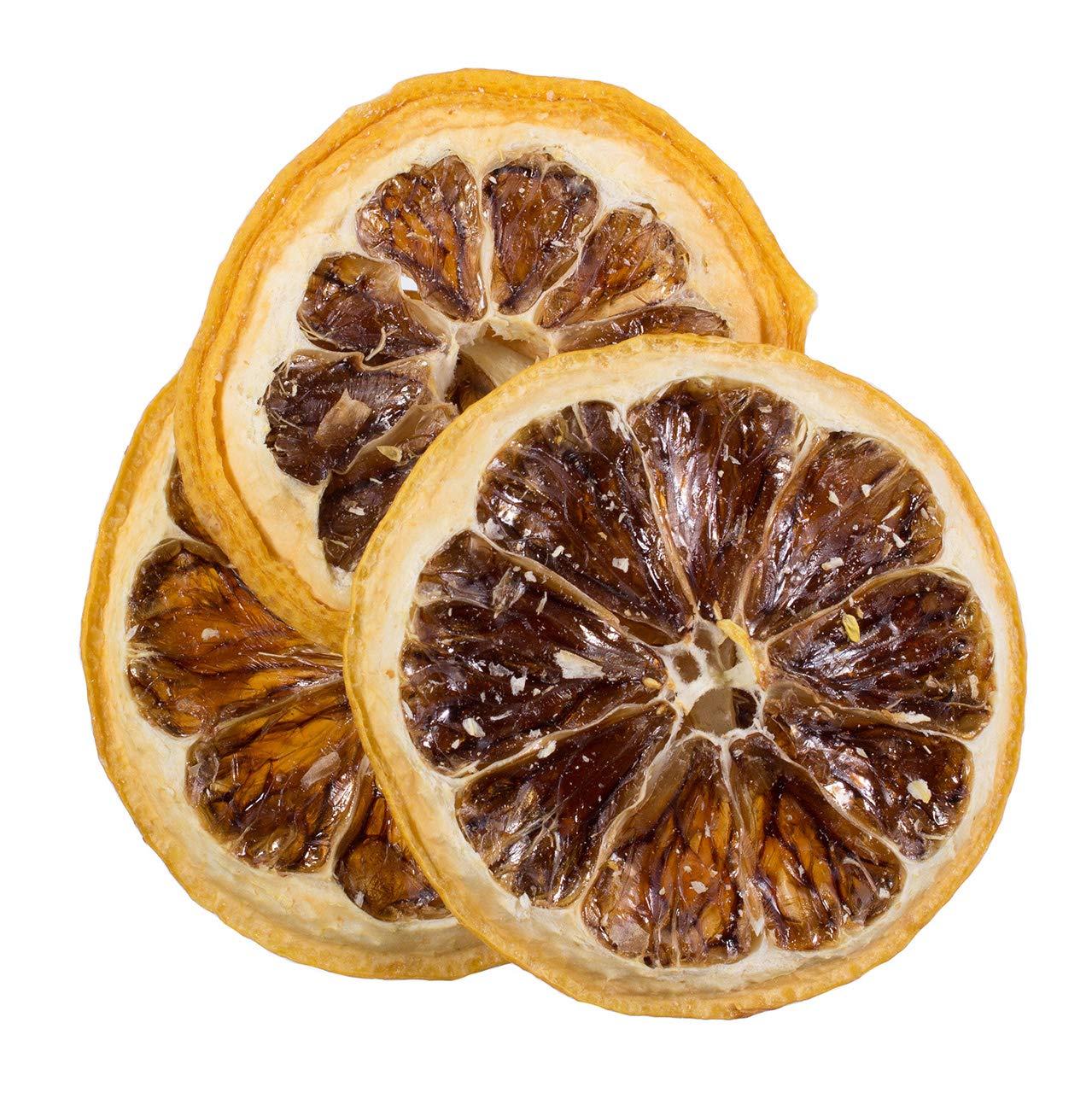 Bella Viva Orchards Natural Dried Lemon Slices, No Sugar Added, 1 lb of Dried Fruit