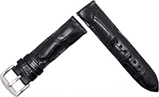 product image for Black Matte Alligator Replacement Watch Strap Crocodile Watch Band Collection, by John allen Woodward
