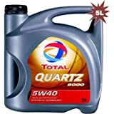 Total Quartz 9000 5W40(1L): Amazon.es: Coche y moto