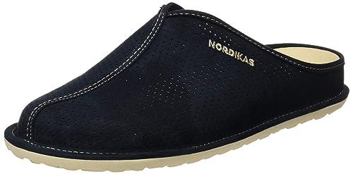 NORDIKAS Tex Cab, Zapatillas de Estar por casa con talón Abierto para Hombre: Amazon.es: Zapatos y complementos
