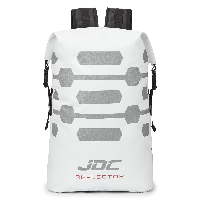 Blanc JDC Sac polochon Moto 100/% /étanche 30 L Reflector