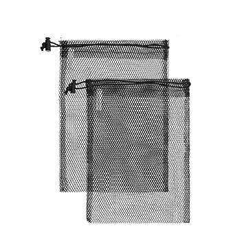 Amazon.com: Bolsas de malla de nailon para acampada, viajes ...