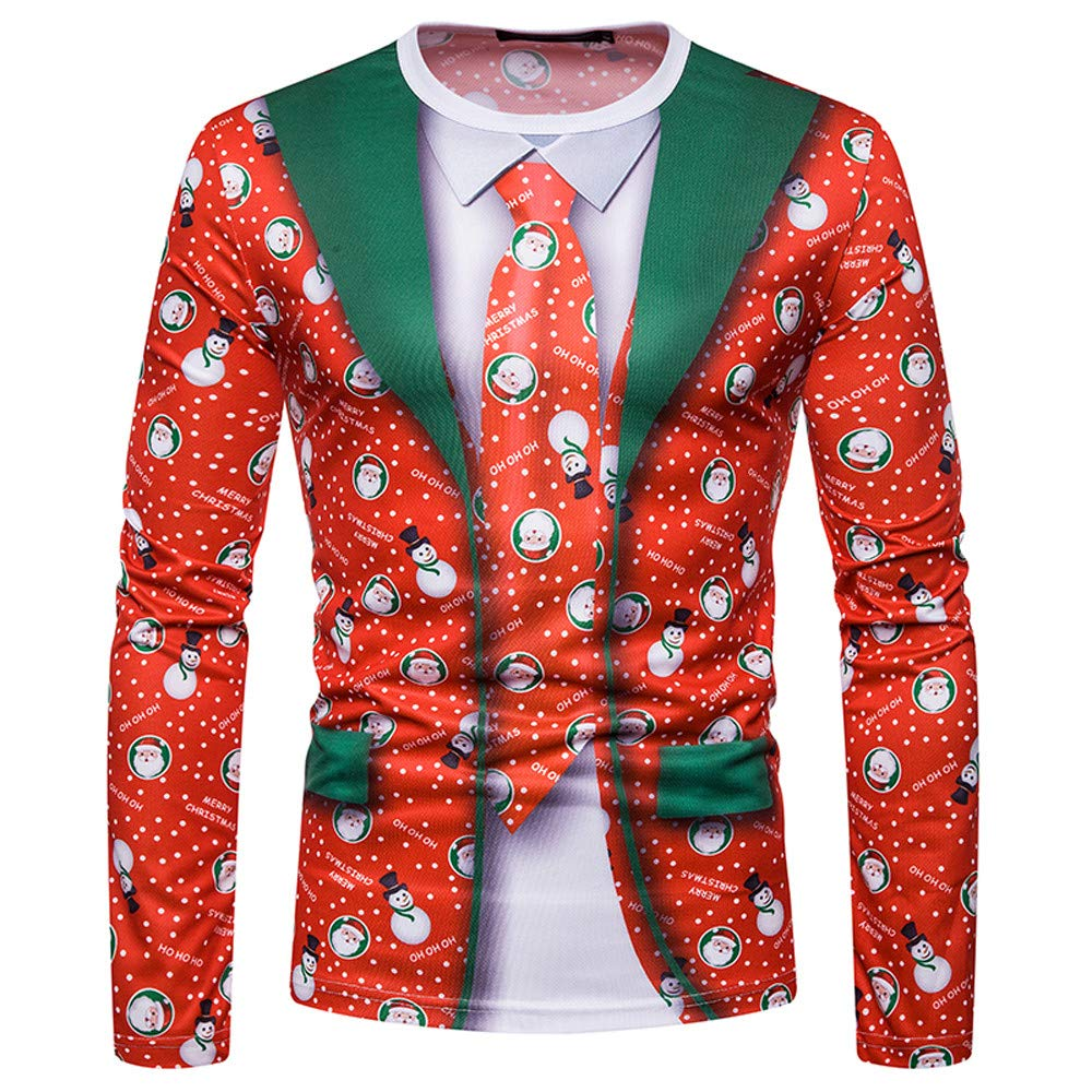Maglione Uomo, Abbigliamento Sportivo Uomo Giacca e Cappotto Maglione Lavorato a Maglia da Uomo Autunno e Inverno Pathwork Pullover Outwear, T-Shirt Magliette Uomo