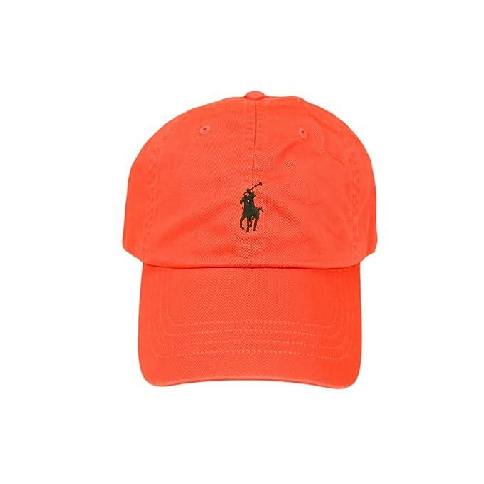 online retailer 13ca8 e5261 Ralph Lauren - Cappellino da baseball - Uomo arancione ...