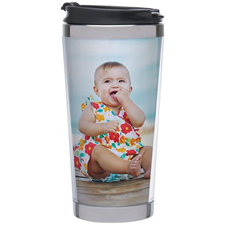 Amazon photo stainless steel travel tumbler create your own photo stainless steel travel tumbler create your own pronofoot35fo Choice Image