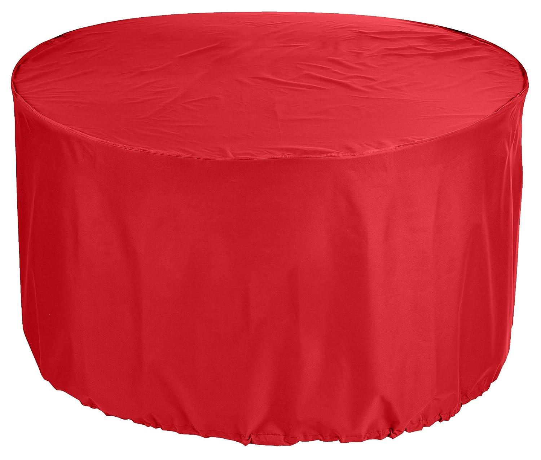 acquistare ora KaufPirat - Telone di Copertura per mobili mobili mobili da Giardino, rossoondo, Ø 120 x 90 cm, colore  Rosso  design unico