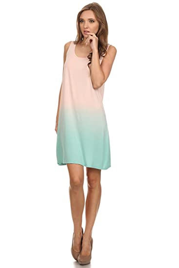 Long Tunic Tank Top for Women Tie Dye Loose fit Modal Sleeveless Tanks for  Women 781c62a0f257