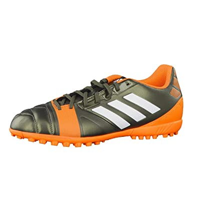new style 76072 9836b Adidas Nitrocharge 3.0 TF - Botas de fútbol para Hombre dunkelgrün Orange  Talla 8