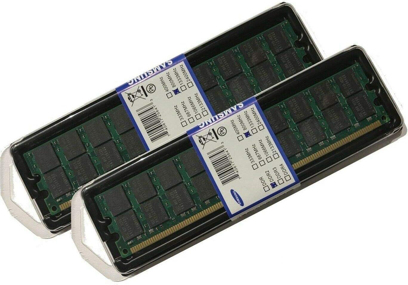 Dual Rank x4 PC2-6400 DDR2-800 Registered LP Memory Kit m/ódulo de 2x4GB Memoria 8 GB, 2 x 4 GB, DDR2, 800 MHz, 240-pin DIMM Hewlett Packard Enterprise 8GB