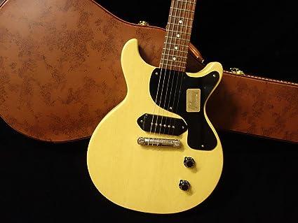 Used Gibson Custom Shop 1958 les paul Junior doble corte vos TV amarillo guitarra