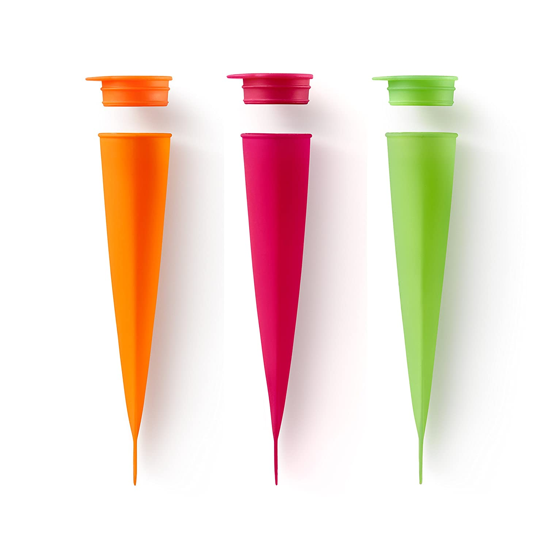 Lekue Ice Cream Pop Mold (1 Unit), Green 3402200V09U002