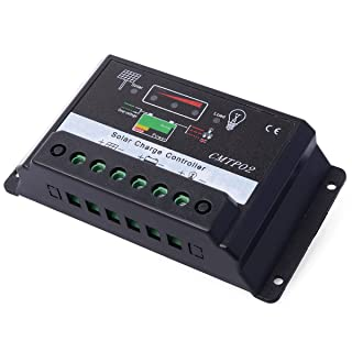 XCSOURCE® Nuevo Controlador de Carga Regulador Panel Solar 30A 12V/24V PWM Charger LD293