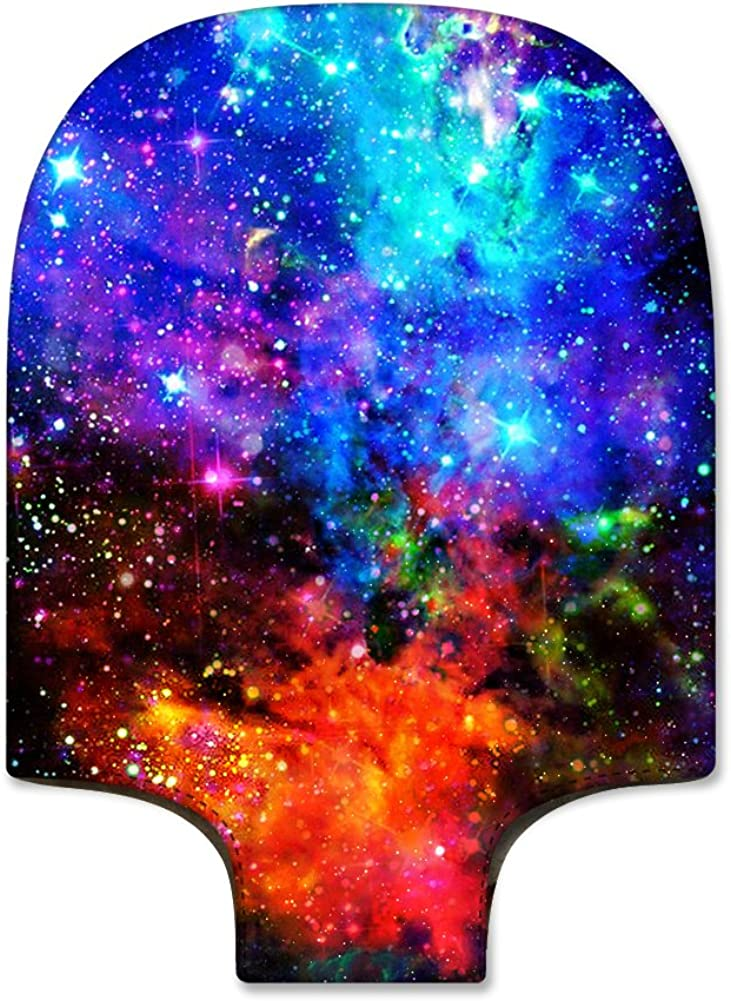 SCOCICI Luggage Suitcase Elastic Protective Covers Nebula Galaxy Stars Milky Way in Ombre Colors Outer Space Universe Image for Men Women Travel Business