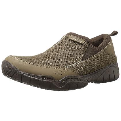 653a2399116a Crocs Men s Swiftwater Mesh Moc Flat