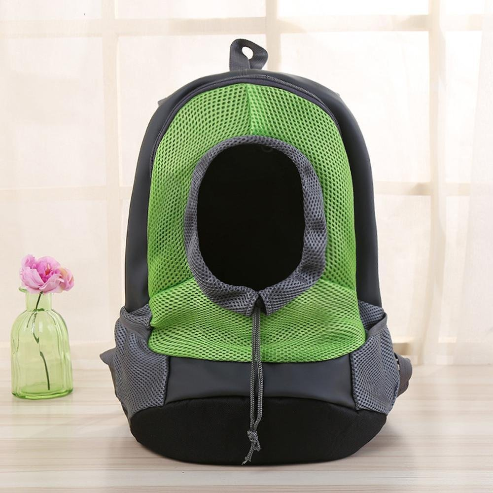 D 38x30x14cm D 38x30x14cm Daeou Pet Backpack Go Out for a Trip with a Chest Pouch